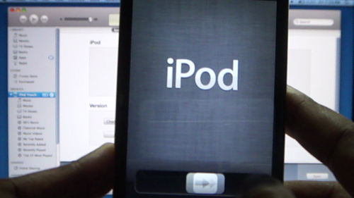 how to update ipod touch version 4.2.1 to ios 5