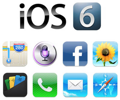 Download iOS 6 Final for iPhone 4S,4,3GS, iPod Touch 4G