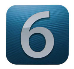 Apple iOS 6 Logo