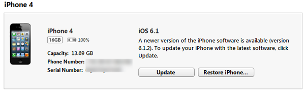 Update Your iPhone