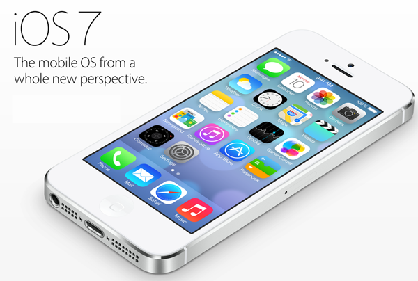 IOS 7 on iPhone 5
