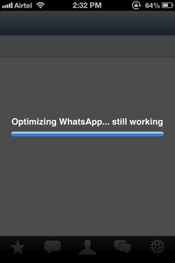 Optimizing WhatsApp