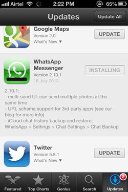 WhatsApp 2.10.1